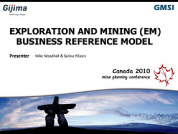 Exploration and Mining (EM) Business Reference Model