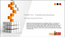 TOGAF 9.2 - Transforming Business